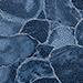 Donkerblauw Fantasie Python Leer